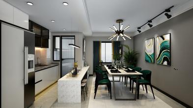 50平米公寓欧式风格厨房图片