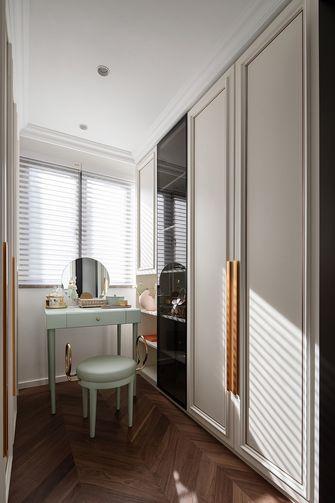 富裕型120平米三室一厅法式风格衣帽间图