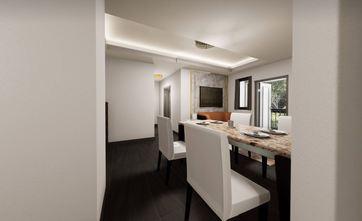 50平米一居室轻奢风格餐厅图