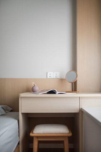 10-15万90平米三室两厅日式风格书房效果图