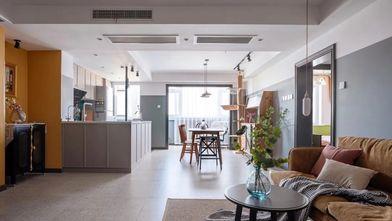 富裕型110平米四室一厅混搭风格客厅图片