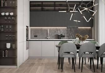 110平米一室一厅田园风格餐厅装修效果图