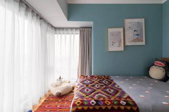 80平米三室两厅欧式风格青少年房图片