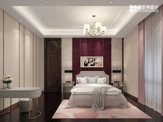 豪华型140平米别墅港式风格卧室图