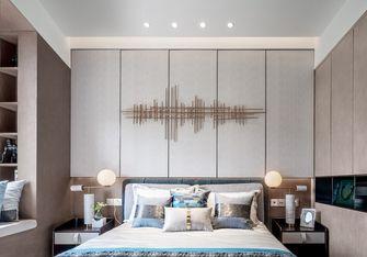 富裕型100平米三室两厅轻奢风格卧室装修案例