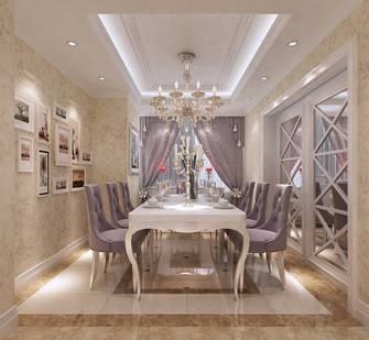 140平米三欧式风格餐厅图片