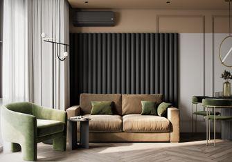 15-20万80平米现代简约风格客厅设计图