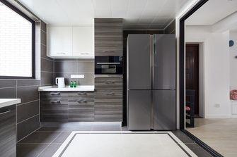 15-20万90平米三室两厅英伦风格厨房装修效果图
