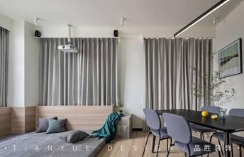 富裕型140平米四室两厅北欧风格影音室装修案例