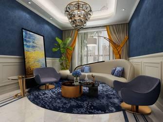20万以上120平米三室两厅现代简约风格影音室装修效果图