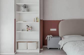 豪华型130平米三室两厅现代简约风格青少年房设计图