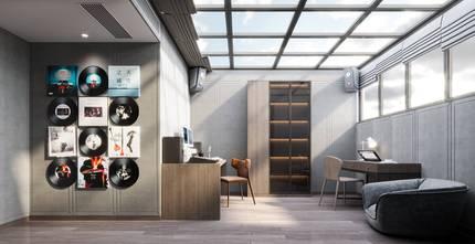 豪华型140平米四室一厅中式风格阳光房图片大全