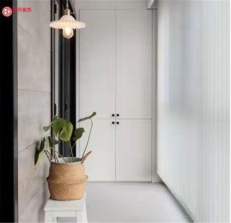 20万以上120平米三室两厅北欧风格阳台装修效果图