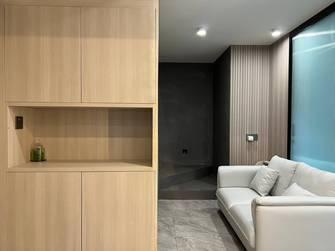 富裕型80平米一室一厅轻奢风格玄关图