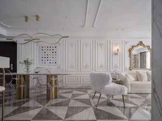 130平米三室一厅新古典风格客厅图片大全