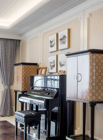 富裕型130平米一室一厅轻奢风格影音室设计图