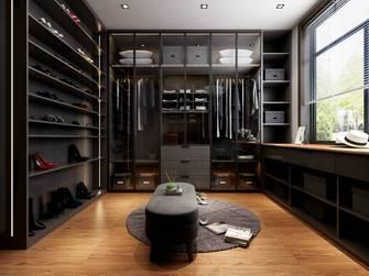 豪华型140平米复式现代简约风格衣帽间装修效果图