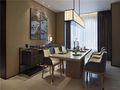 10-15万100平米三室一厅中式风格餐厅图片