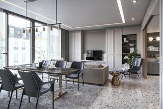 15-20万130平米公寓轻奢风格餐厅图