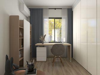 140平米三室两厅北欧风格书房图