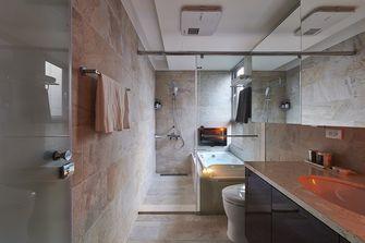 140平米三室两厅港式风格卫生间图片