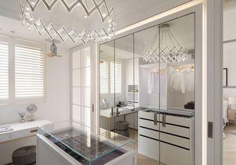豪华型140平米三室一厅美式风格衣帽间图片大全