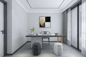 110平米三室一厅现代简约风格书房设计图