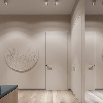 豪华型140平米三室一厅现代简约风格玄关设计图