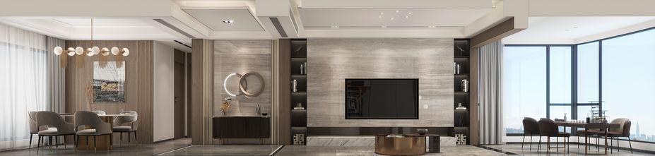 10-15万140平米四室两厅现代简约风格客厅图片大全