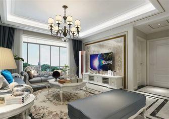 富裕型140平米三室两厅轻奢风格走廊装修案例