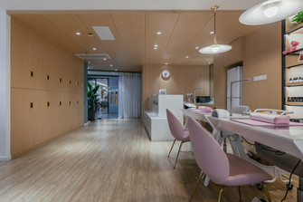 140平米一居室轻奢风格其他区域装修图片大全