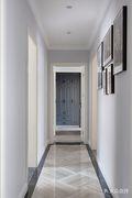 富裕型120平米三室一厅美式风格走廊欣赏图