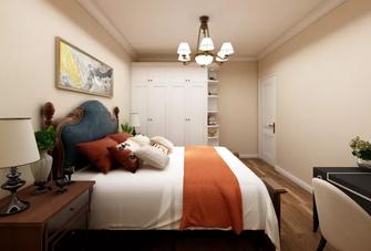 110平米美式风格卧室效果图
