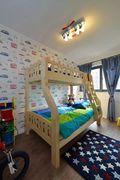 5-10万100平米三现代简约风格青少年房效果图