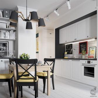 经济型80平米工业风风格厨房图片大全