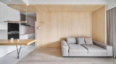 3万以下50平米一室一厅现代简约风格客厅图片大全