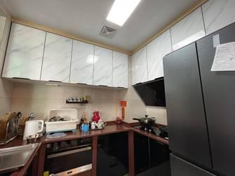 富裕型110平米三室两厅中式风格厨房装修案例