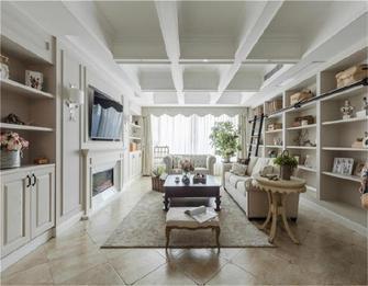 富裕型120平米四室两厅欧式风格客厅效果图
