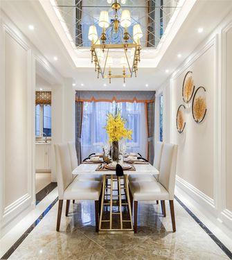 20万以上140平米三新古典风格餐厅装修图片大全