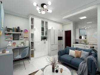 50平米一居室现代简约风格客厅装修图片大全