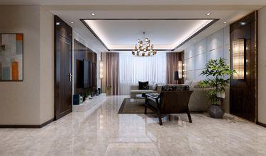140平米四港式风格客厅设计图