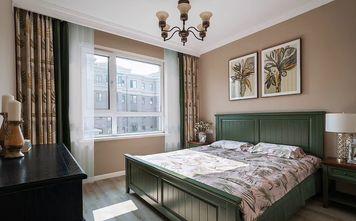 20万以上110平米三室一厅美式风格卧室欣赏图