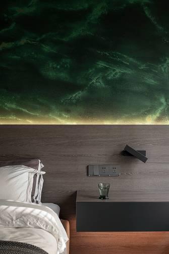 15-20万140平米三室一厅现代简约风格卧室欣赏图