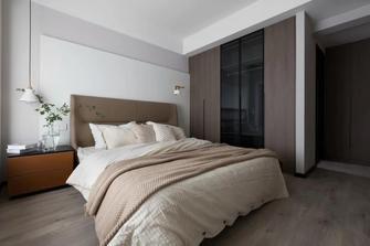 20万以上140平米三室一厅现代简约风格卧室图片大全