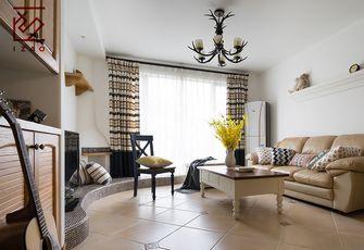 富裕型140平米三室两厅田园风格客厅装修案例