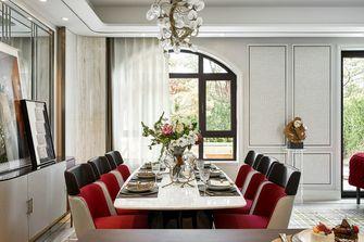 豪华型140平米别墅法式风格餐厅设计图