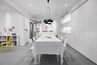 经济型80平米公寓轻奢风格餐厅图片大全