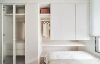 20万以上30平米小户型现代简约风格卧室设计图