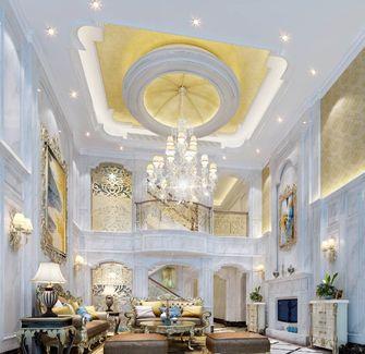 140平米三室两厅欧式风格客厅装修效果图