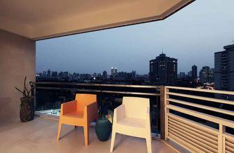 3-5万70平米公寓现代简约风格阳台装修图片大全